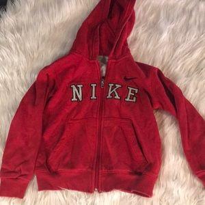 Nike Boy's 4T Zip Sweatshirt